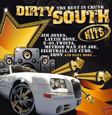 Crunk CD Dirty South Hits The Best In Crunk von Various Artists 2CDs
