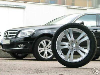 Mercedes C Klasse W204 17 Zoll Alu Winterkompletträder