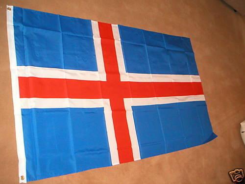 ICELAND ICELANDIC FLAG FLAGS 5