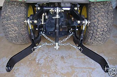RUEGG MFG 3 POINT HITCH  FITS  X475, X485, X495 X595  John Deere