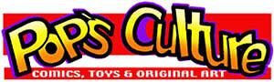Pops Culture Comics Toys and Art